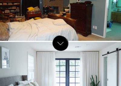 Arcadia | Bedroom Before & After