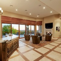 Troon North | Wet Bar & Living Room