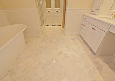 Cameron Master Bath floor